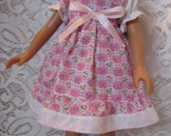 """Pink Print Dress for your Hart for Hart, Les Cheries, 13"""" Disney Princess Doll"""