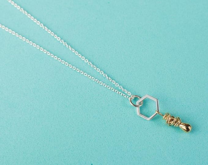 Honey Drop Necklace