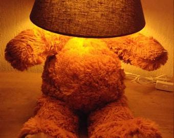 Headless bear lamp- nightlight , Gift for girls and boys, Babyshower gift, bear night light, Baby lamp, Nightlight bear.