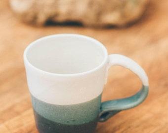 Handmade Blue Ceramic Mug / Coffee Mug / Pottery Mug / Tea Cup / Pottery Gift / Valentine's Day Gift / Coffee Lover Gift / Zest it Up