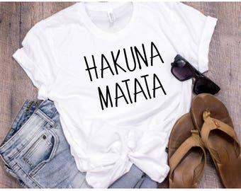 Hakuna Matata | The Lion King | Lion King | Disney | Disney Shirt | Disney World | Gift | Gift For Her | Disney Land