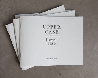 UPPER CASE lower case Photography Book