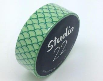 Green Washi Tape // 15mm x 10m // W100334