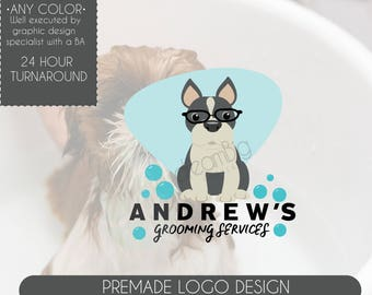 Dog Grooming Logo, Pet Logo, Dog Grooming, Dog Salon, Mobile Dog Grooming, Grooming Business, Best Logo Design, Professional Logo Design