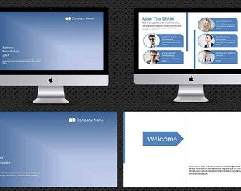 Presentation Template , Corporate Powerpoint Template Instant Download - V03