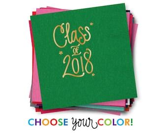 Graduation Napkins   Choose YOUR Color!