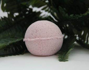 raspberry bath bomb/bath bomb/all natural bath bomb/bath fizzy/bath accessories/fragrance bomb/organic bath bomb/handmade bath bomb