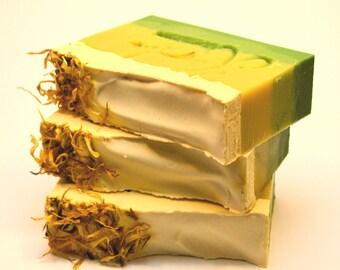 LEMONGRASS Soap, natural soap, vegan soap, cold process soap, handmade soap Australia, artisan soap