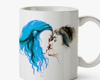 Eternal Sunshine mug- Tribute to M. Gondry