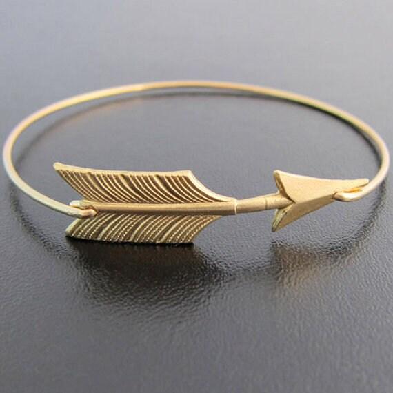 Arrow Bracelet for Women Arrow Bangle Bracelet Arrow Jewelry Brass Stackable Bracelet Stackable Bangle Graduation Gift Idea for Best Friend