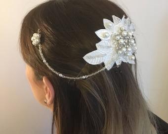 Bridal hair comb , bridal hair accessorie