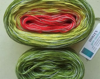 Kit -- MARTINI MEDLEY -- Sport Weight -- Color Changing Cotton yarn (150 gr /480 yards)