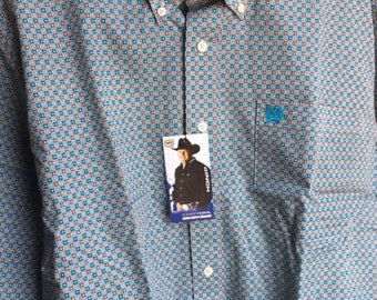Mens Cinch Pattern Shirt