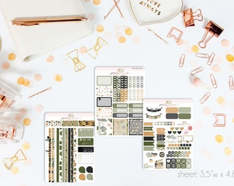 Good Fortune MINI Weekly Kit // 130+ Matte Planner Stickers // Perfect for your Personal Planner // WKM0570