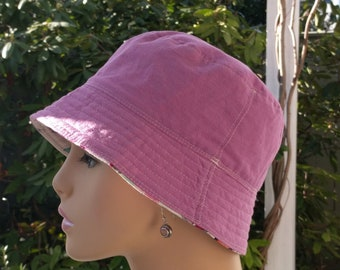 Chemo Hats Cancer Caps Chemo Hat Bucket Hat Cancer Hat Made in the USA  MEDIUM