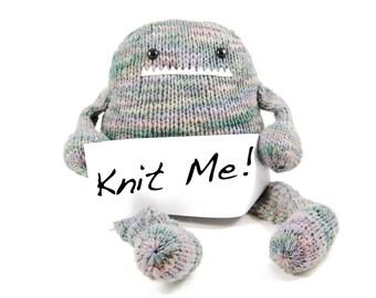 NEW Iris the Gourmet Monster Knitting Kit