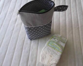 Wetbag Diaper bag wet bag star Grey