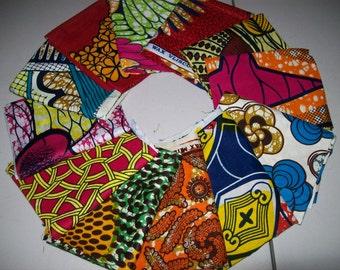 12 Assorted African/Tribal print bundles, Fat quarter bundles/ African Cotton fabrics/ African head Wraps/ accessories/ Quilter's Fabric