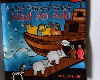 1 Old Friend  Noah Had an  Ark Cloth Book