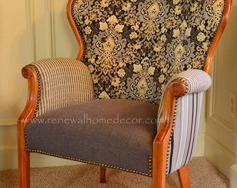 Custom Order - Vintage reclaimed accent chair - SOLD