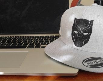 """Black Panther Hat """"Snap Back"""""""