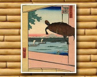 Japan Travel Poster Japanese Wall Art Retro Decor Asian Print (J85)