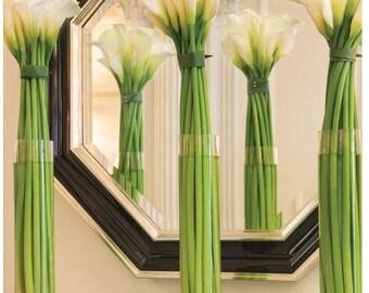 """24"""" X 4"""" Cylinder Vase for wedding centerpiece"""