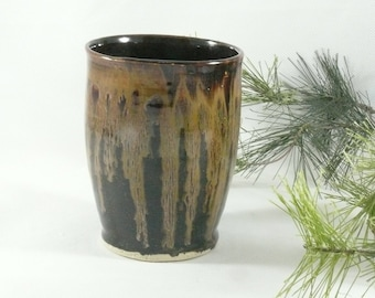 Pottery Vase, Ceramic Cup, Teacup, Water Glass, Coffee or Tea Cup, pottery and ceramics, Pencil Holder Ceramic Cup, Toothbrush Holder