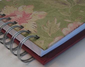Pocket Size Address Book - Mini Address Book - Address Book - Replacement Labels - Address Book Tabs - Email Address Book - Green Floral