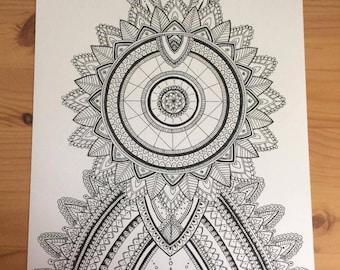 Arching Mandala