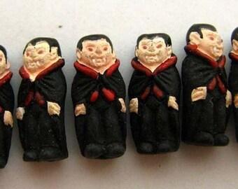 4 Tiny Vampire Beads - CB523