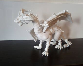 BJD dragon with wings