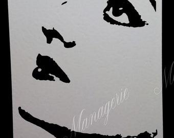 Joan Crawford Vinyl Decal