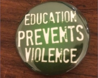 Education Button / Pin