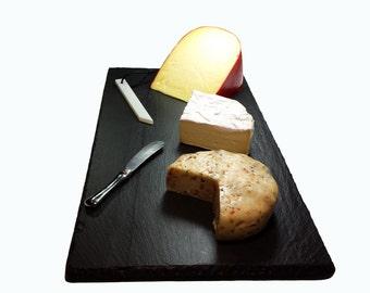 6 x 12  Slate Cheese Board with Soapstone Chalk