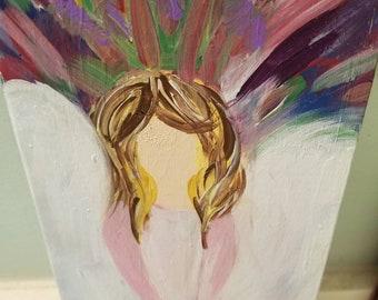 Angel, Fairy painting