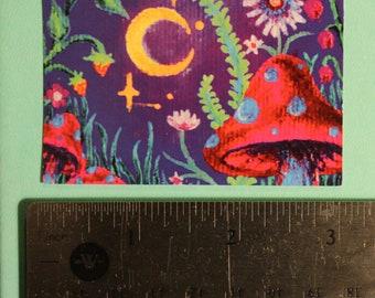 2x3 Dreamy Garden Sticker
