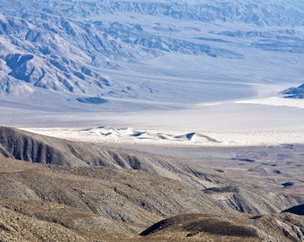 The Sand Dunes at the North end of Panamint Valley. Death Valley. California. USA