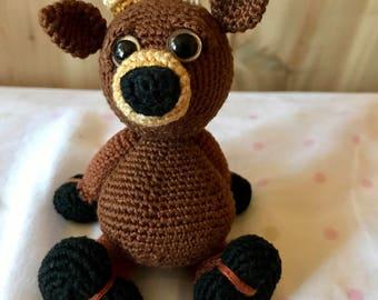 Buck the Micro-crochet Amigurumi Deer