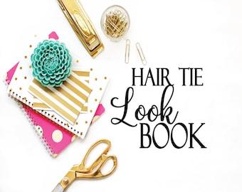 WEDDING | BACHELORETTE | FAVOR Hair Tie Options | Color Charts