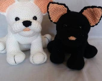 Custom order for Lori - 2 French Bulldogs