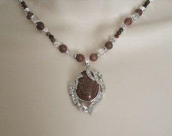 Jasper Necklace, boho jewelry gypsy jewelry hippie jewelry bohemian jewelry new age necklace gypsy necklace boho necklace bohemian necklace