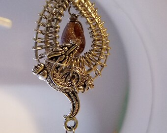 Pipa Dragon Necklace