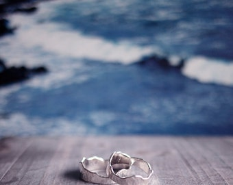 Silver Mountain Ring - Klukkutindar for Men/Women Iceland