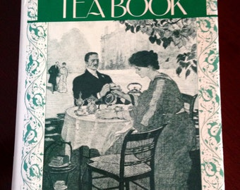 VINTAGE Book--The Afternoon Tea Book by Michael Smith, for Birthday, Tea Lover, Entertaining, Hostess Gift, Housewarnimg