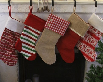 Personalized Stocking -- Deluxe Quality and Heavy Fabric