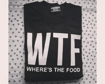 WTF Wheres The Food Crewneck Sweatshirt by Fashionisgreat