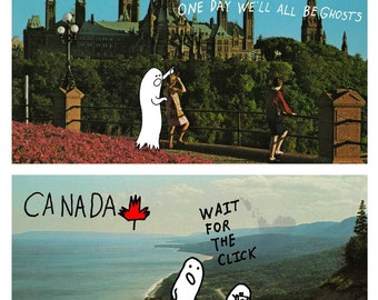 Souvenirs of Another Canada - 10  Post Card Set