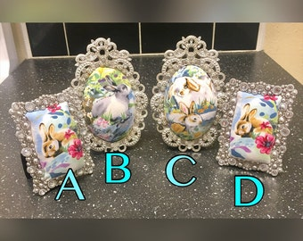 Handmade Picture Frame Pin Cushions
