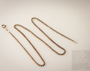 Curb chain flat 1,2mm (Can only be bought together with one of the other items)